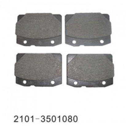 Колодка переднего тормоза 2101 VIS