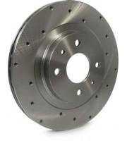 Тормозные диски ALNAS 2110 SPORT с перфорацией 2шт