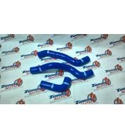 Патрубки радиатора ВАЗ 2108 - 2115, инжектор, синий