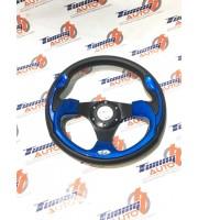 Руль спортивный Синий