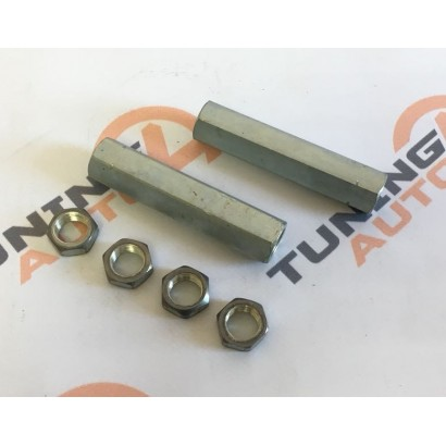 Тяга с контргайками (скрутки) рулевой трапеции, 100 мм (комплект)