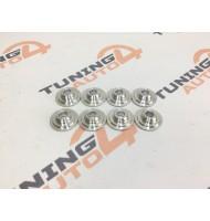 Тарелка пружины клапана «PRO.CAR» (титан, алюминиевый сплав) ВАЗ 2101-2107, 2121-2131 /Нива/, 2123 /Нива-Шевроле/ (комплект 8 штук)