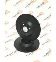 Диск переднего тормоза TORNADO R15 вентилируемый SPORT ВАЗ 2108/2110/1118/2170/2190/2192 (комплект 2 штуки)