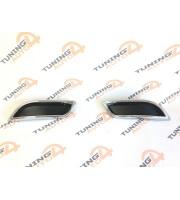 Заглушки в стиле двойного выхлопа Lexus style на ВАЗ Лада Приора 2
