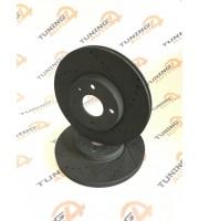 Диск переднего тормоза TORNADO R14 вентилируемый SPORT ВАЗ 2112 (комплект 2 штуки)