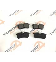 Колодка заднего тормоза для задних дисковых тормозов TORNADO (комплект 4 штуки)