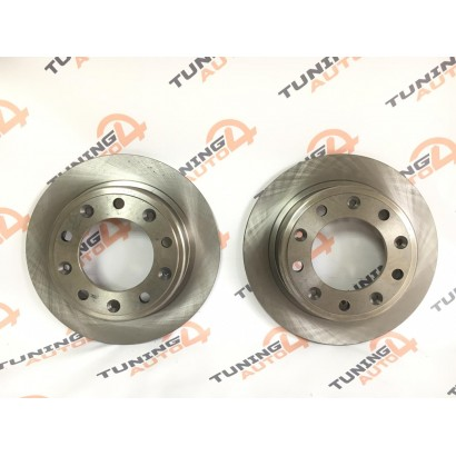 Диск заднего тормоза для задних дисковых тормозов TORNADO  R15 ВАЗ 2121-2131 /Нива/, 2123 /Нива-Шевроле/ (комплект 2 штуки)