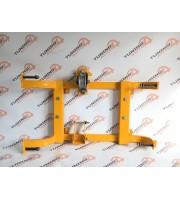 Подрамник раздаточной коробки передач без защиты ТЕХНОСФЕРА ВАЗ 2121-2131 Нива