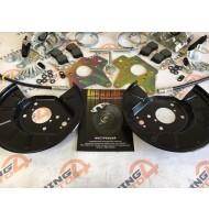 Комплект задних дисковых тормозов TORNADO STANDART R13 ВАЗ 2108-2115, Калина, Приора, Гранта (c АБС)