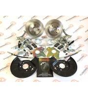 Комплект задних дисковых тормозов «TORNADO» STANDART R13 ВАЗ 2108-2115, Калина, Приора, Гранта (c АБС)