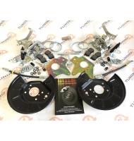 Установочный комплект для задних дисковых тормозов Торнадо для ВАЗ 2108-15, Приора, Калина, Гранта