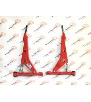 Рычаг передней подвески треугольный «ТехноМастер» ВАЗ 2108-2115, Калина, Приора, Гранта, Калина 2 (комплект правый + левый)