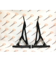 Рычаг передней подвески треугольный ВАЗ 2108-2115, Калина, Приора, Гранта, Калина 2 (комплект правый + левый) (сайлентблоки - резина)