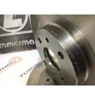 Диск переднего тормоза «Zimmermann» R14 вентилируемый ВАЗ 2112 (комплект 2 штуки)