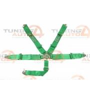 Ремни безопасности Takata 5-ти точечные, зеленые