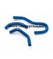 Комплект силикон патрубков отопителя (печки) ВАЗ-2111 (2шт)