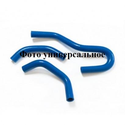 Комплект силикон патрубков отопителя (печки) ВАЗ-21214 НИВА инжектор (2шт)
