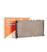 Радиатор охлаждения ДЗР ВАЗ 1119 универсальный