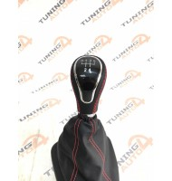 Чехол КПП 2110 красная строчка Vesta Style