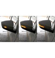 Указатели поворота в зеркала (н/о) Лада Гранта бегущие в стиле Lexus