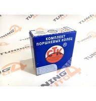 Кольца поршневые CTK 82,0 мм ВАЗ (1,5/2,0/3,947), комплект на 4 цилиндра