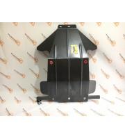 Защита картера двигателя усиленная Броня ТЕХНОСФЕРА Нива 21214-31 (инжектор), URBAN 4x4