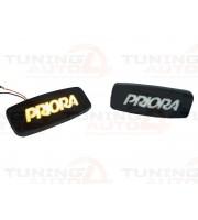 Диодные LED повторители с надписью PRIORA для ВАЗ