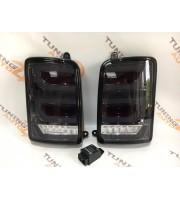 Черные задние светодиодные фонари LED для Нивы ВАЗ 21213, 21214, 2131
