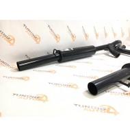 Глушитель основной раздвоенный StinGer MUTE для ВАЗ 2170 Приора седан БЕЗ насадок