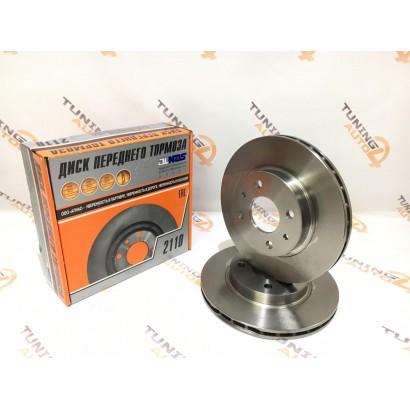 Тормозные диски ALNAS 2110(стандарт), 2шт