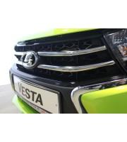 Хромированные накладки на решетку Lada Vesta