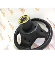 Рулевое колесо Барс черный для ВАЗ 2108-15, 2110-12
