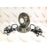 Комплект передних тормозов ВАЗ 2121-2123 (диск УРБАН SPORT) суппорт ВАЗ 2108