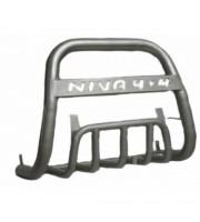 Дуга передняя с защитой НИВА 4х4 d63.5, 21214-31